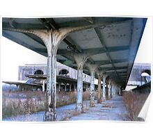 abandoned train station - 35mm Poster