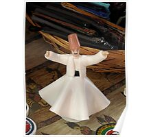 Whirling Dervish (Figurine Style that Is) Poster