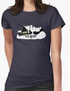 Until Dawn - Blackwood Lodge Womens Fitted T-Shirt