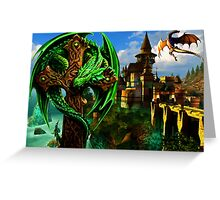 Dragon Heart Greeting Card