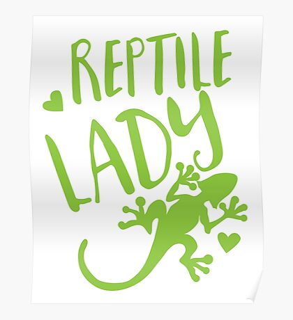 Reptile Lady Poster