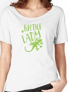 Reptile Lady Women's Relaxed Fit T-Shirt
