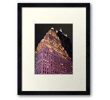 The Paramount Building Framed Print
