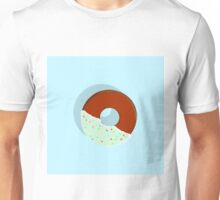 Half-Dipped Apple Spice Donut Unisex T-Shirt