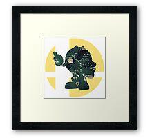 Sm4sh - Pac-Man Framed Print