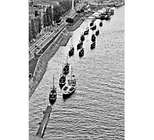 Porto's boats Photographic Print