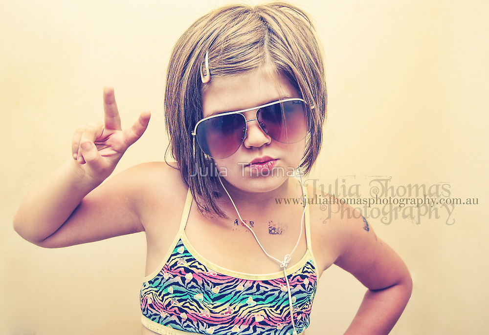 Coolest kid ever by Julia  Thomas