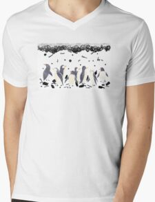The Gifts To Penguins Mens V-Neck T-Shirt
