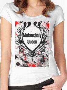 Melancholy Queen Women's Fitted Scoop T-Shirt
