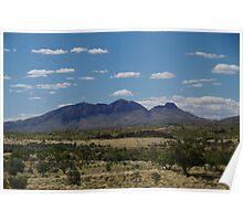 Mt Sonder, West Macdonnell Ranges, NT  Poster