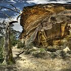 Wind Cave - Blue Mountains NP by Jeff Catford