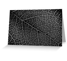 Leaf Projection Greeting Card