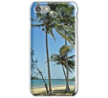 South Mission Beach Palms iPhone Case/Skin
