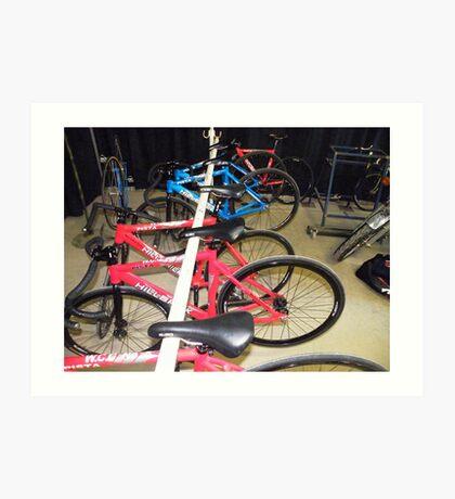 Bike & Bikes Art Print