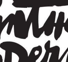 Panther Moderns Sticker