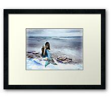 The World's A Beach Framed Print
