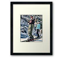 Chris & Cameron Framed Print