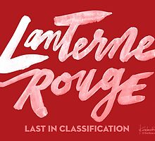 Lanterne Rouge : White Script by finnllow