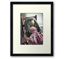 Old Doll Framed Print