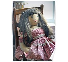 Old Doll Poster