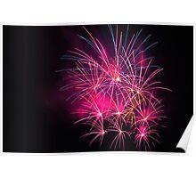 Sydney 2011 spectaculer fireworks Poster