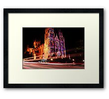 St Mary's Cathedral - Sydney Framed Print