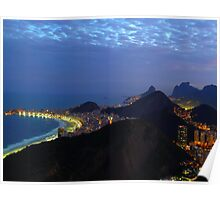 Rio by night Poster