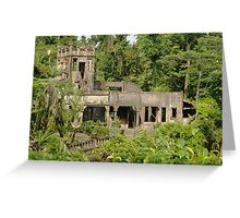 Paronella Park Castle Greeting Card