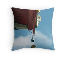 Temple Chimes Throw Pillow