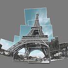 Eifel Tower - Paris - Snapshot collage by newshamwest