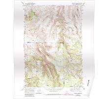 USGS Topo Map Oregon Lefevre Prairie 280499 1969 24000 Poster