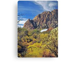 WRANGLERS ROOST Canvas Print