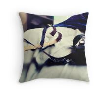 For the love of film Throw Pillow