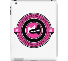 Mixed Martial Arts Competition Ready Kneebar Pink  iPad Case/Skin