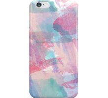 Girly Watercolor Splash iPhone Case/Skin