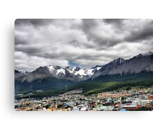 City at the Bottom of the World Canvas Print