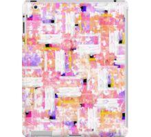 Elegant Pastel Pink, Orange, and Blue Watercolor iPad Case/Skin
