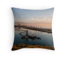 carlsbad sunset Throw Pillow