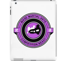 Mixed Martial Arts Competition Ready Kneebar Purple  iPad Case/Skin