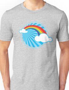 Colourful Rainbow Unisex T-Shirt