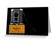 Box Camera Greeting Card