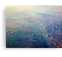 New York from the Air  (2012) Metal Print