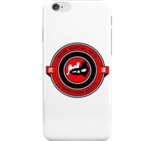 Mixed Martial Arts Competition Ready Kneebar Red  iPhone Case/Skin
