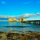 Pier buildings, Queenscliff pier by kat86