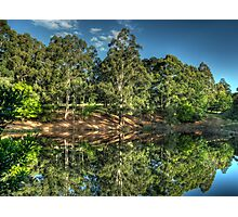 Reflections Of Marysville - Marysville, Victoria Australia - The HDR Experience Photographic Print