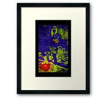 Earths Aura Framed Print