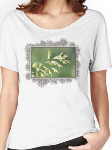 Flowering Brome Grass Women's Relaxed Fit T-Shirt