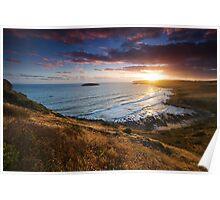 Petrel Cove Sunset Poster