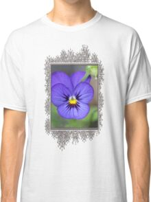 Viola named Sorbet Blue Heaven Jump-Up Classic T-Shirt