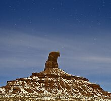 Starry Night: Valley of the Gods by Mitchell Tillison